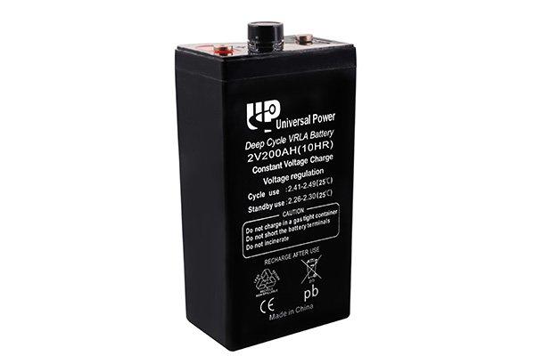 long life battery 2V series 01